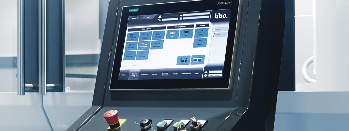 BTA Bohren mit intuitiver Bedienung